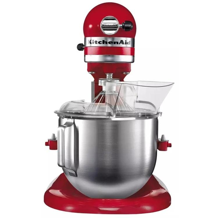 KitchenAid搅拌机5KPM5RED 升降式厨师机 台式打奶油机 鲜奶打发