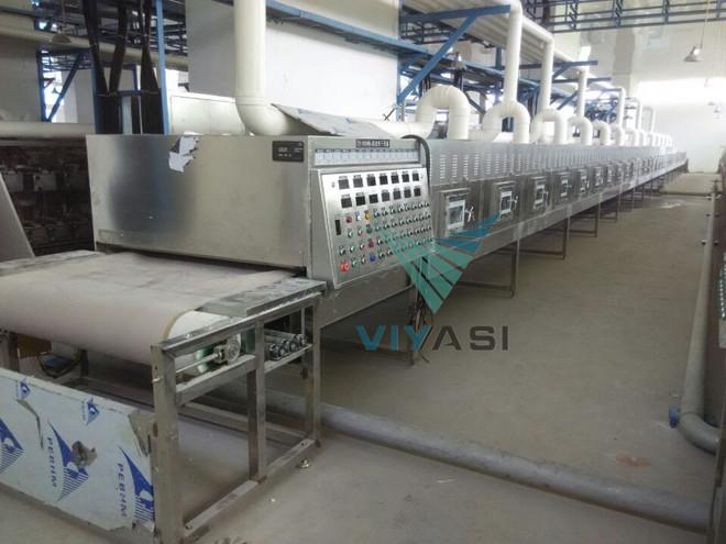 PVC粉改性剂微波干燥机