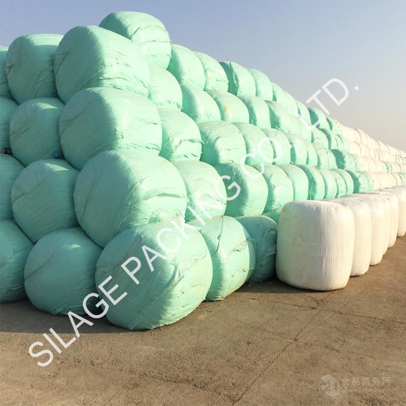 青贮牧草膜 抗UV抗氧化 强拉伸 日本高北设备专用牧草青贮膜