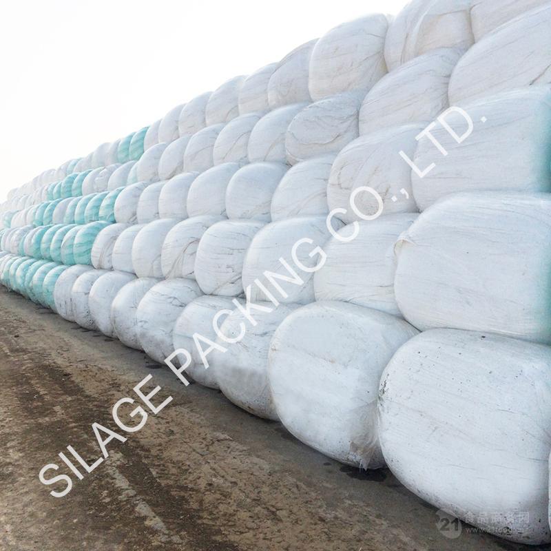 工厂直供 粘性好 青贮牧草打包塑料膜 环保可回收 出口缅甸