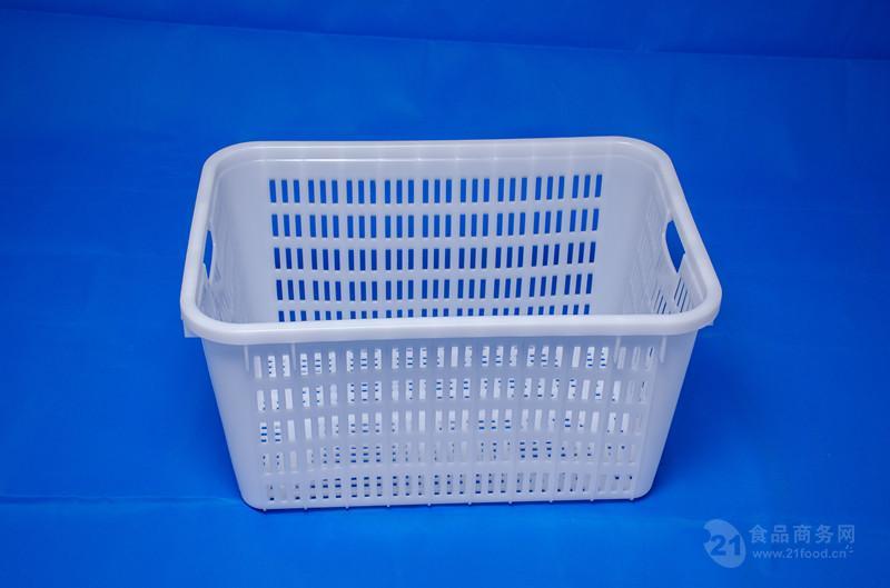 重庆厂家供应 PP 蓝色 600-210  塑料周转筐