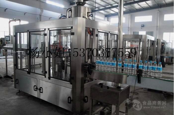 全自动矿泉水灌装机生产线