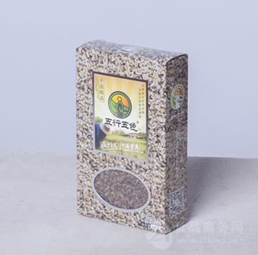 优质荞麦  300g/盒  精品礼盒装  送礼佳品  五行五色品牌