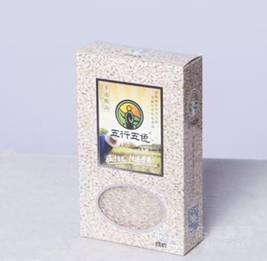 糙米  五谷杂粮  特色特产农产品  五行五色品牌