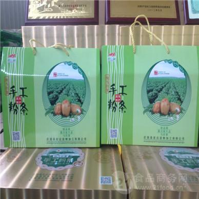 纯马铃薯手工粉条盒装