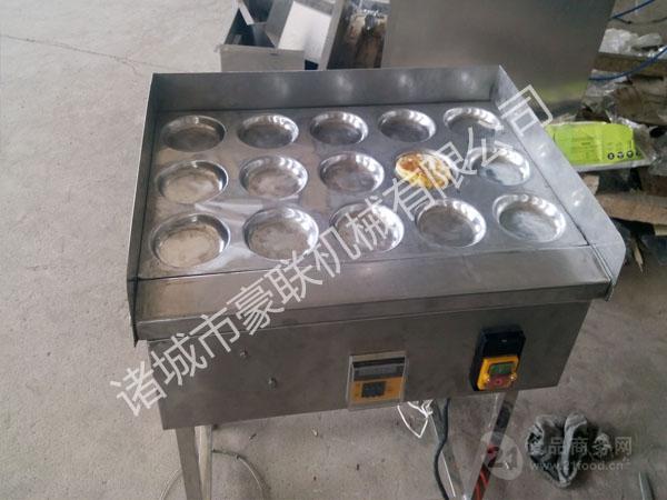 豪联牌HLJ-150优质不锈钢式自动控温煎蛋机