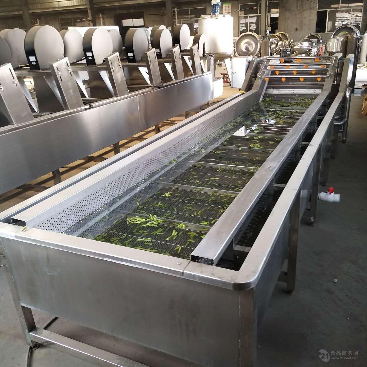 全自动气泡式蔬菜水果清洗机厂家