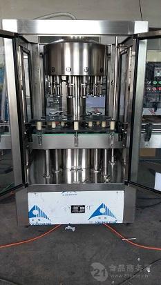 全自动苹果醋灌装机  食醋灌装生产线