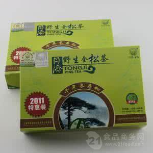同济野生全松茶多少钱一盒