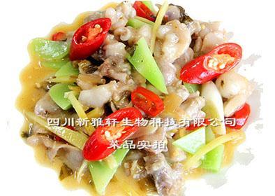 新雅轩 D1104 酸菜牛蛙酱 调味料(餐饮订制 厂家直销)