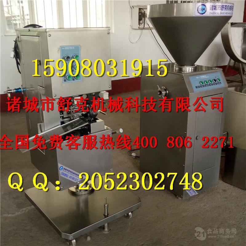中型广东腊肠加工设备创业设备