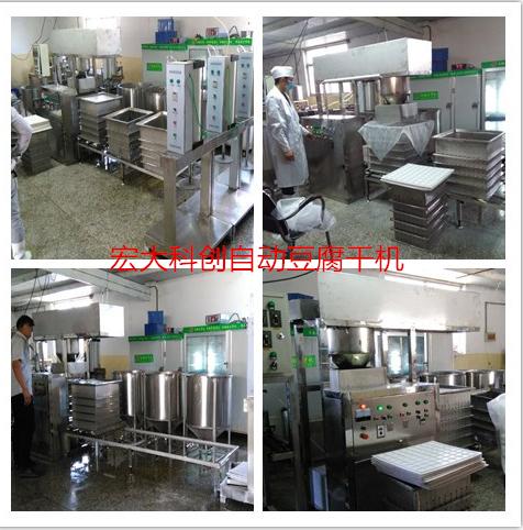 豆腐干机 全自动豆干机功能 豆制品设备