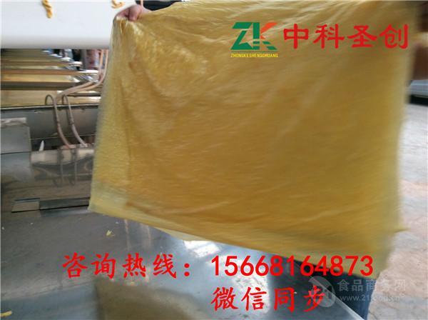 广东揭阳生产全自动腐竹的机器多少钱一套