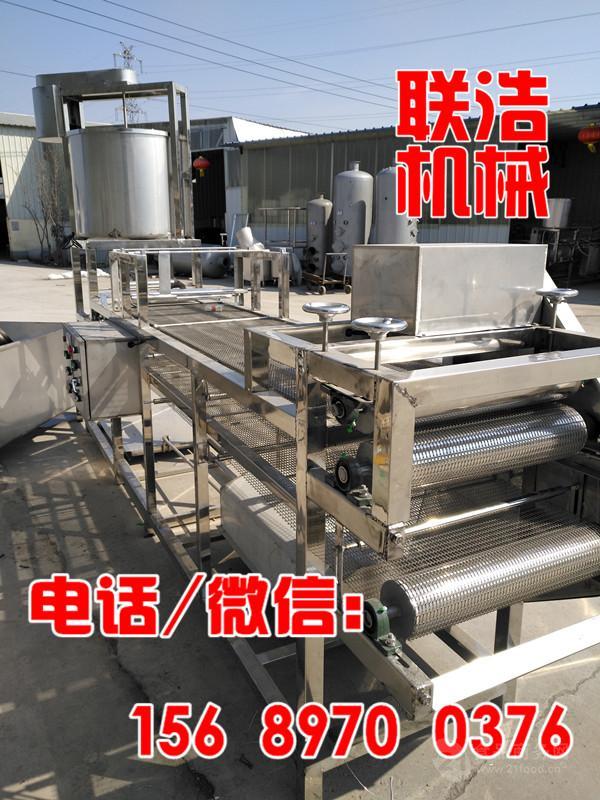 哪里有卖小型豆腐皮机器?哪里有卖素鸡豆腐加工设备的?