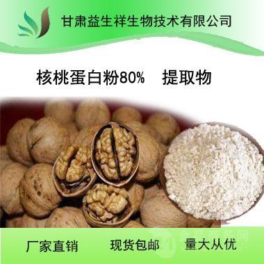 甘肃益生祥 厂家直销 核桃蛋白粉80% 植物蛋白粉核桃提取物
