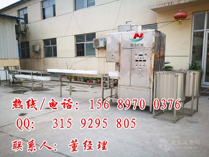 全自动冲浆型豆腐机设备,嫩豆腐生产加工设备厂家