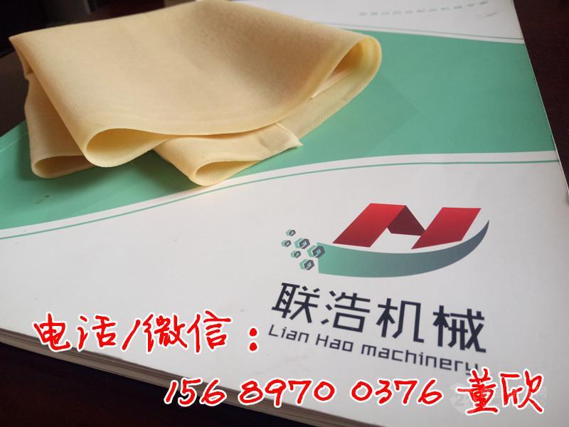 大型专业豆腐皮机生产厂家,豆腐皮机器价格