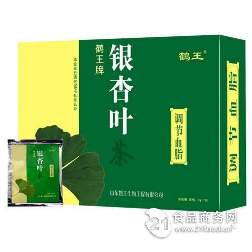 鹤王牌银杏叶茶