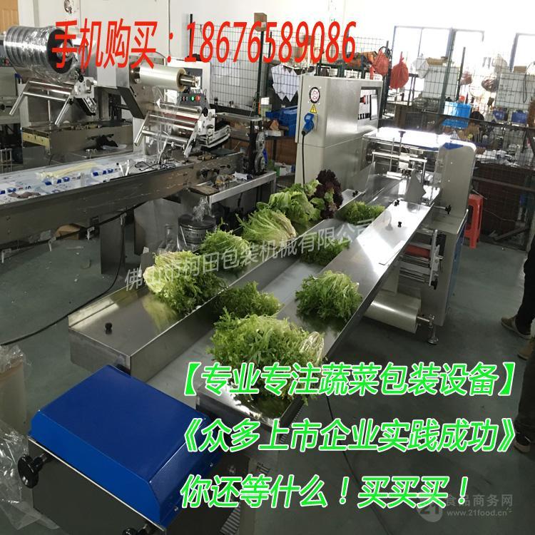 多功能蔬菜枕式包装机