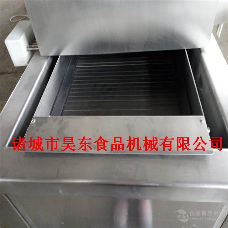 自动除渣刁子鱼油炸机 低功耗刁子鱼油炸流水线