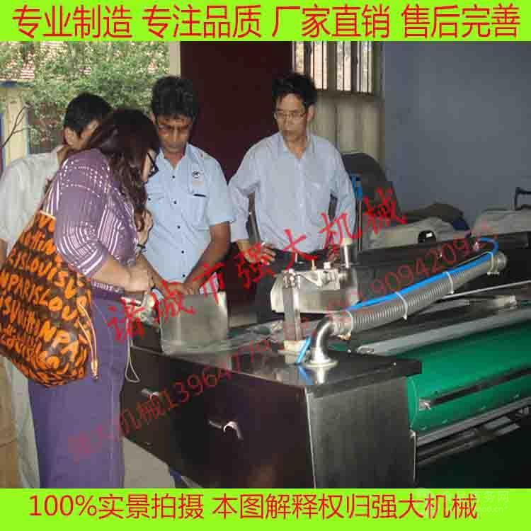 抽真空封口设备 1000型连续式滚动包装机 甜玉米真空包装机