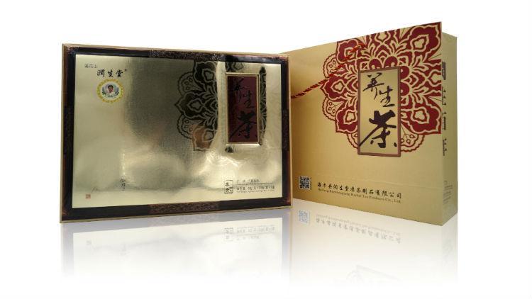 莲花山润生堂养生茶尊贵礼盒装