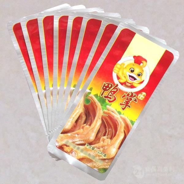 鸭掌耐高温蒸煮铝箔袋卤肉食品包装袋