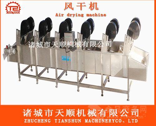 咸鸭蛋真空包装袋连续式清洗机(洗袋烘干机械)