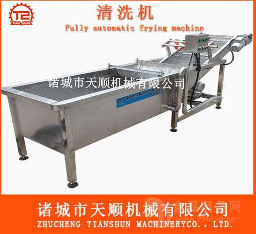 TSQX-4800海参连续式气泡清洗机(海产品清洗机)