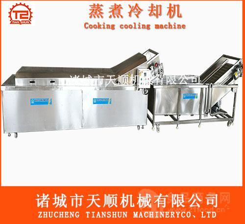 TS-4000速冻玉米段(棒)蒸煮机