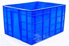 重庆厂家供应 PP 蓝色 320-1型 塑料周转箱