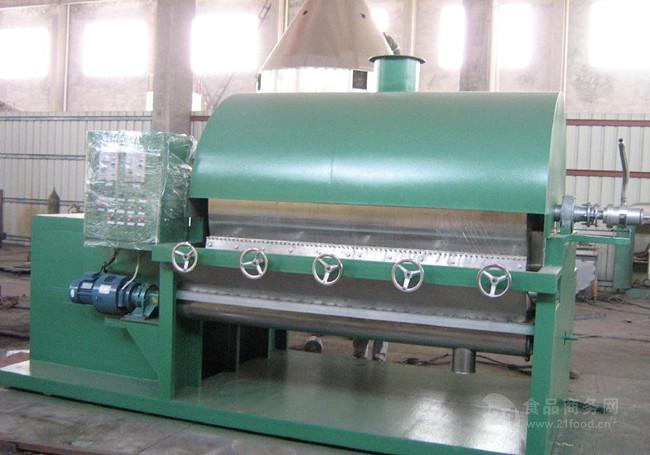 TG型双滚筒刮板干燥设备    粘稠物料滚筒式反应干燥机