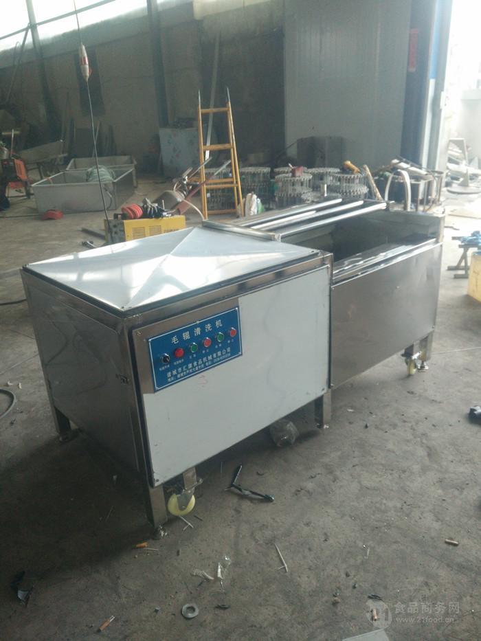 梨子毛辊清洗机,诸城汇康机械