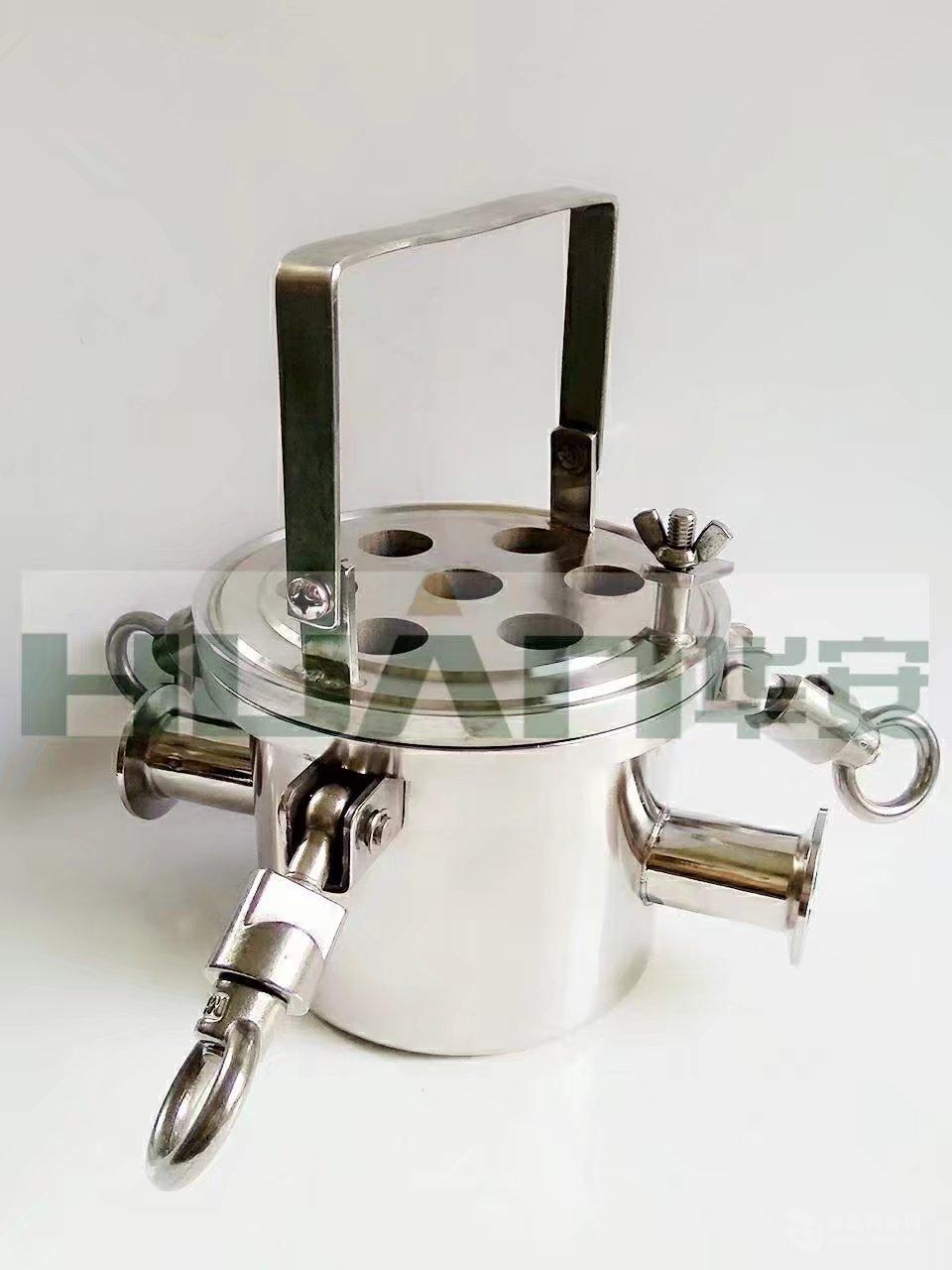 卫生级不锈钢304磁铁过滤器,除铁过滤器
