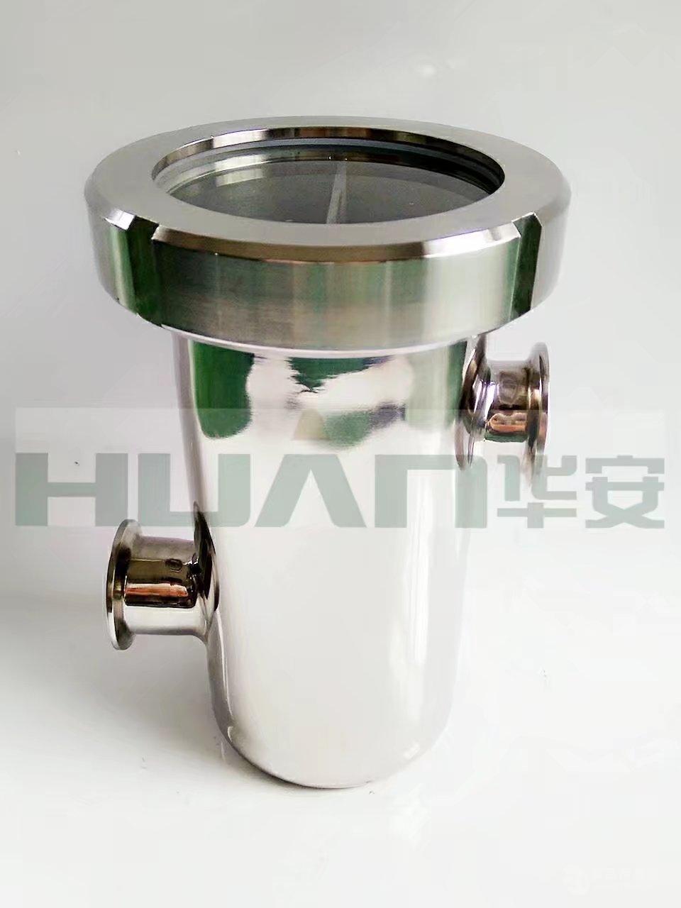 卫生级不锈钢空气阻断器,防倒灌地漏,空气隔断地漏,汽水分离器