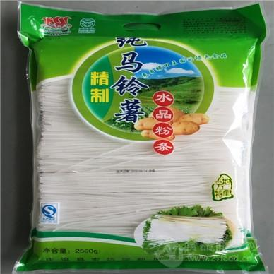 纯马铃薯水晶粉条袋装(细)