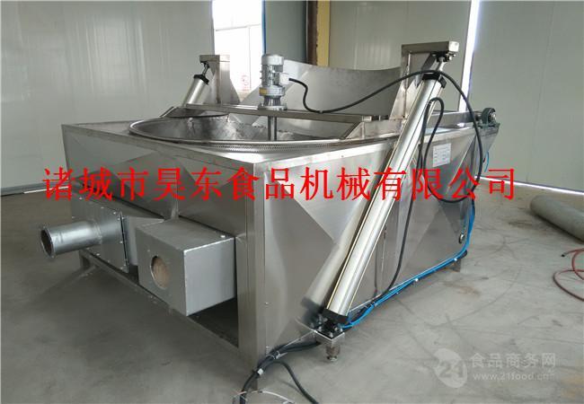 全自动砂糖油炸机 多功能砂糖油炸设备