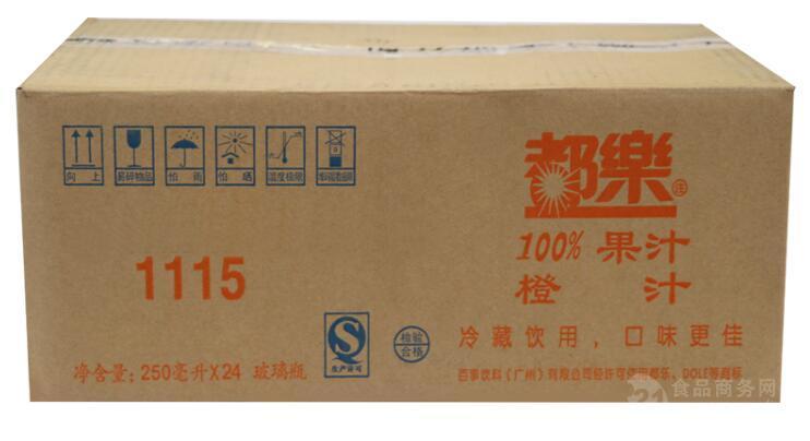 都乐果汁批发、250ml*24、上海都乐果汁专卖