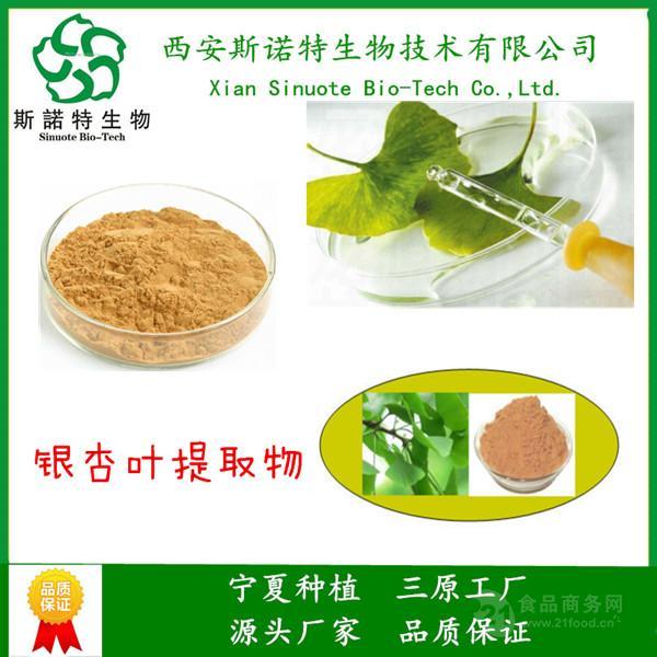 银杏叶提取物 浓缩精细粉末  研发生产销售一体 品质保障