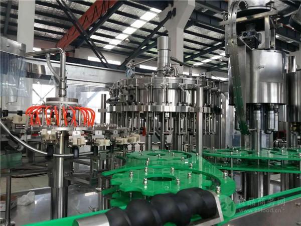 玻璃瓶啤酒灌装机生产线