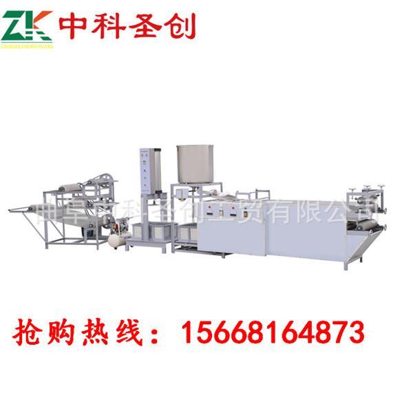 广西DP全自动千张豆腐皮机厂家,千张豆腐皮生产线价格