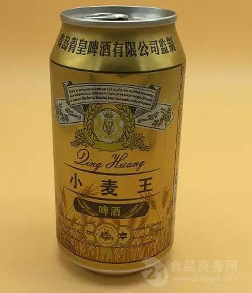 小麦王易拉罐啤酒底价招商