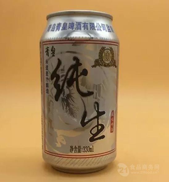 青皇纯生易拉罐啤酒全国招商