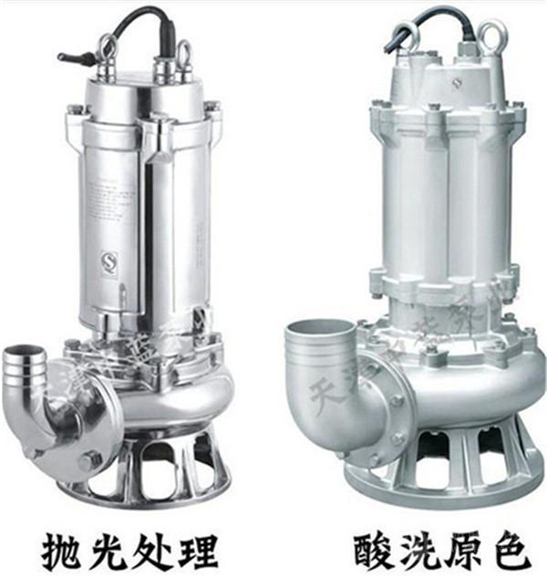 WQ耐腐蚀潜水排污泵