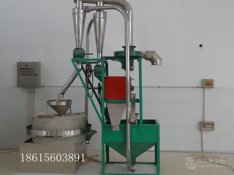 现林石磨xl-80 石磨面粉机 电动面粉磨 五谷杂粮石磨厂