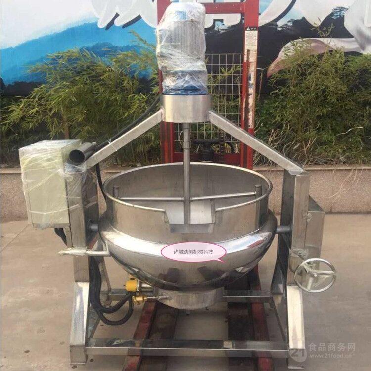 质量好的牛皮糖糖浆熬制搅拌机生产厂家