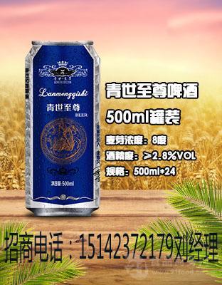 山东500毫升易拉罐啤酒厂招代理商加盟商