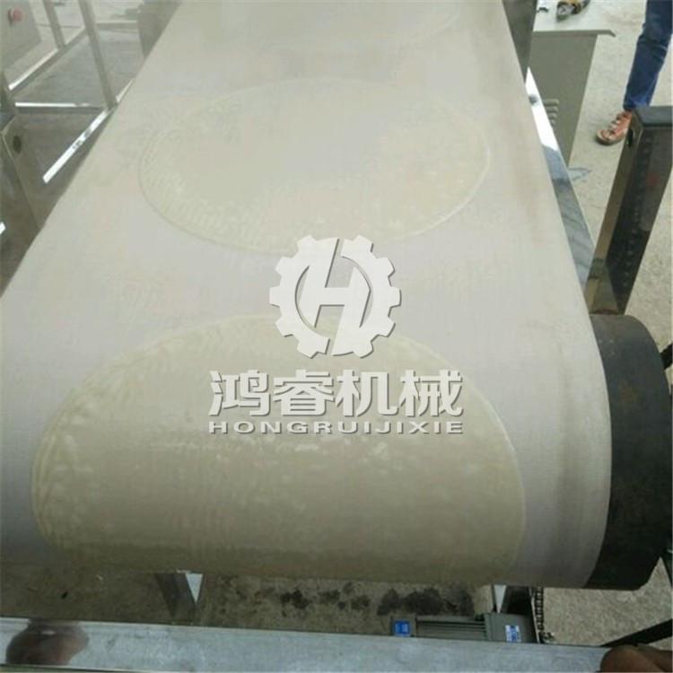 大型仿手工圆形凉皮机时产600张效率高节省人力时间