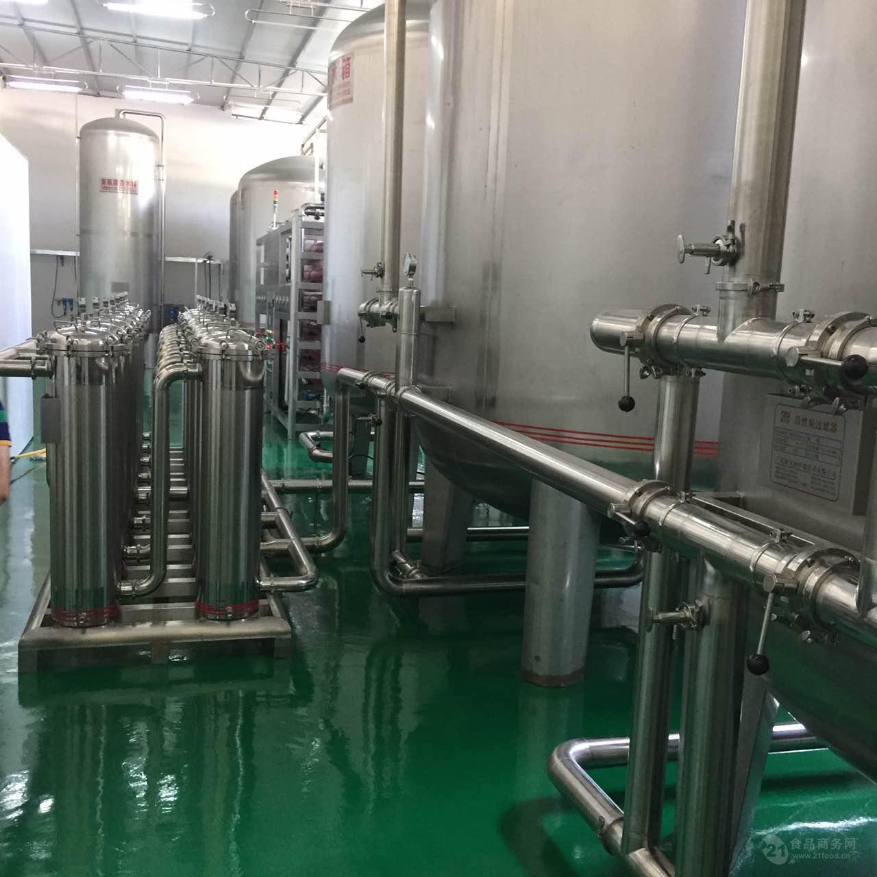 新九洲 纯净水设备反渗透