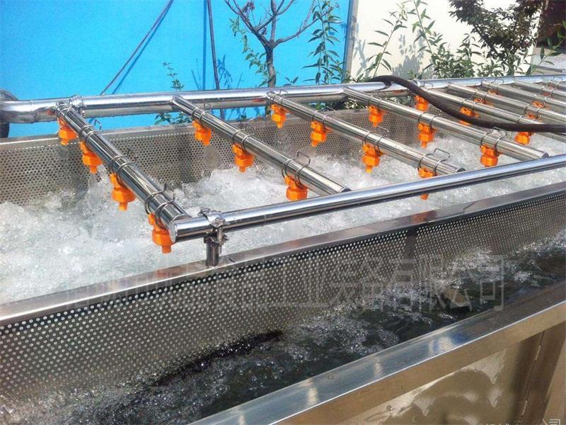 优品袋装食品杀菌后真空包装安康鱼洗袋机